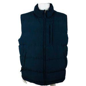Eddie Bauer Men's DOWN Vest Puffer XL Double Sided